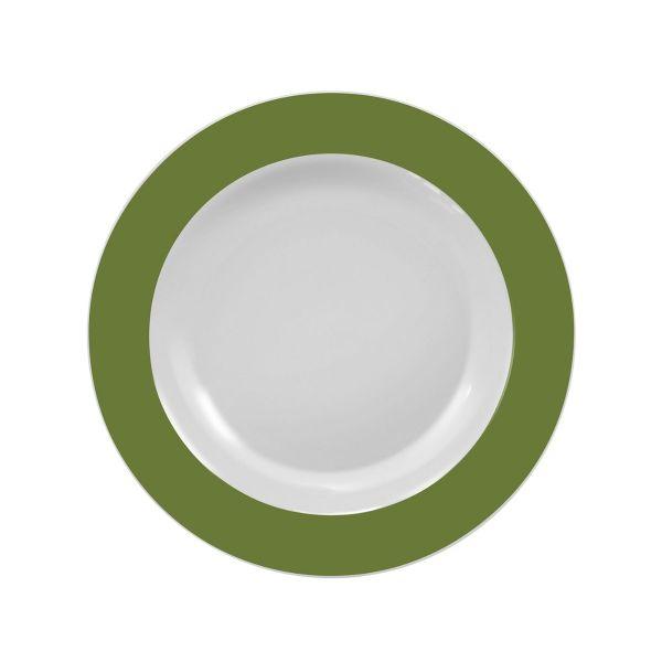 Prato Fundo Militar 23cm  Verde Escuro Schmidt