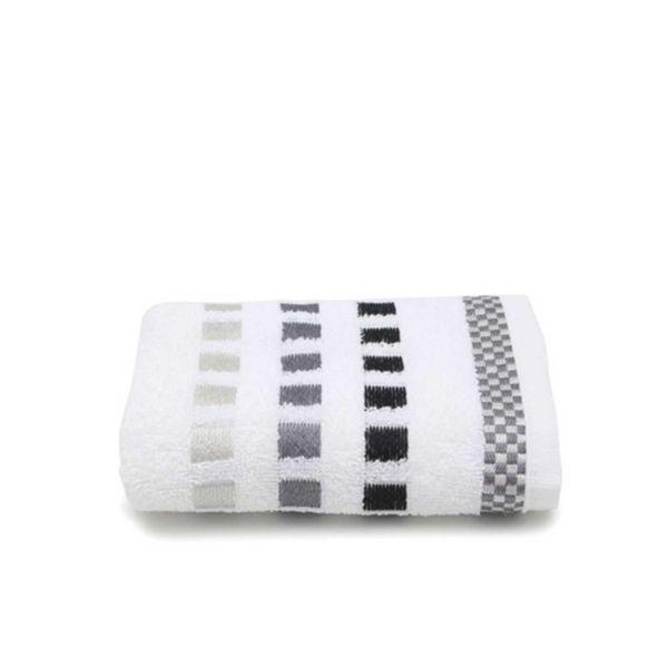 Toalha Rosto Calera 01  Branco Karsten