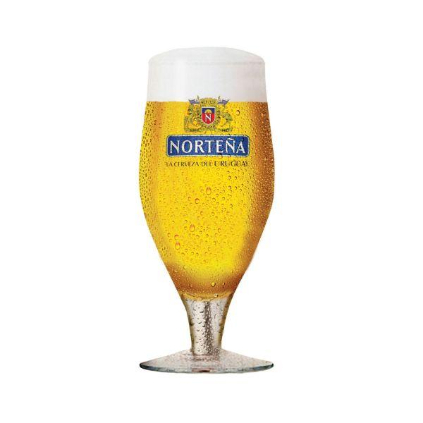 Taça Cerveja Nortena 310ml  Transparente Globimport