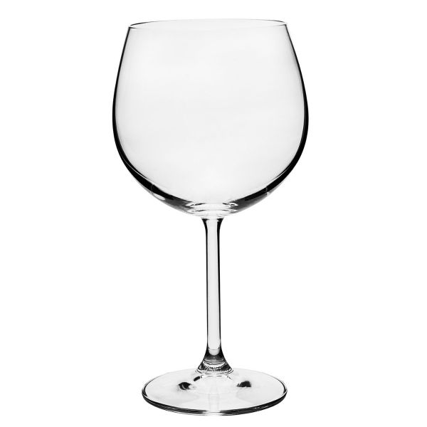 Taça Gin Cristal Gastro 570ml 6 Peças Transparente Full Fit.