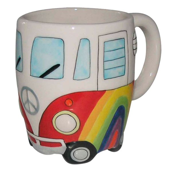 Caneca Fun Hippie 23849 330ml Full Fit