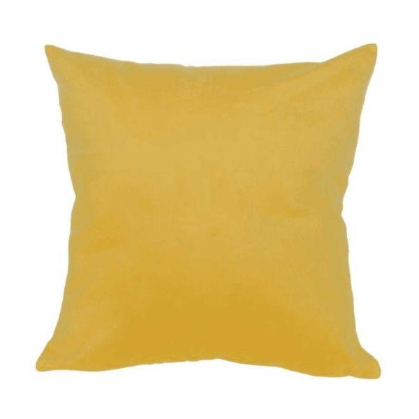 Capa Almofada Sigma Asg-0138 45x45  Amarelo Sena Decorações