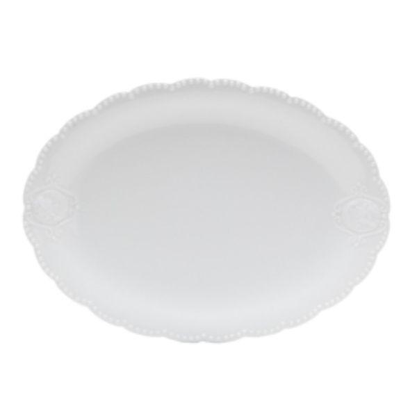 Travessa Super Whitequeen 32,5x23,5 8191  Branco Lyor