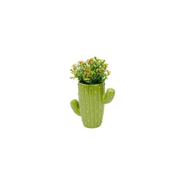 Vaso Cactus Long Bunny Ears 41930 16x8cm  Verde Urban
