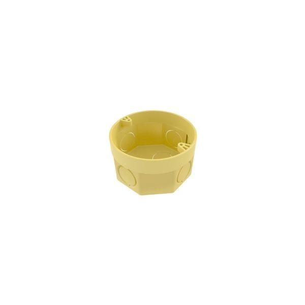 """Caixa Octogonal Amarelo 3x3"""" Tigre"""