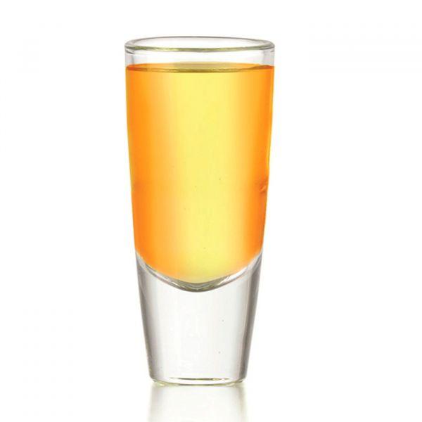 Copo Shot Tequila Carmelot 60ml  Transparente Globimport