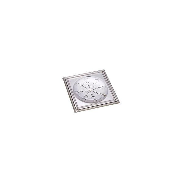Grelha com caixilho para fixar 9.3 018A branco  Moldenox