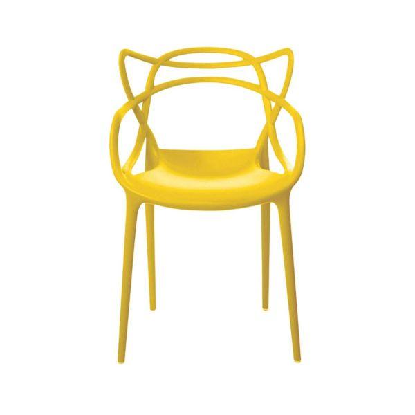 Cadeira Alegra  Amarela Rivatti