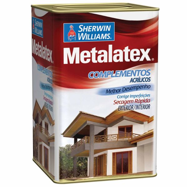 Massa Acrílica Metalatex 18L Sherwin Williams