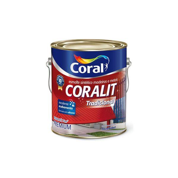 Coralit Alto Brilho 3,6 litros Preto Coral