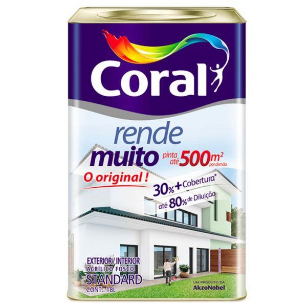 Tinta Rende Muito 18 Litros Branco Coral