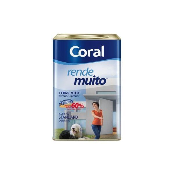 Tinta Rende Muito Branco Gelo 18 litros Coral
