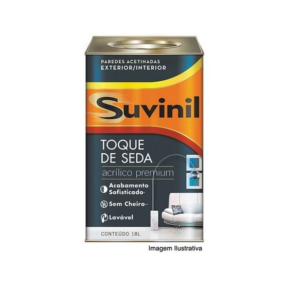 Acrílico Toque de Seda Premium Branco Neve Suvinil