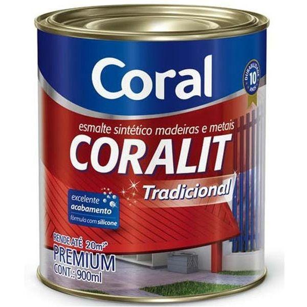 Coralit Alto Brilho 900ml Amarelo Coral