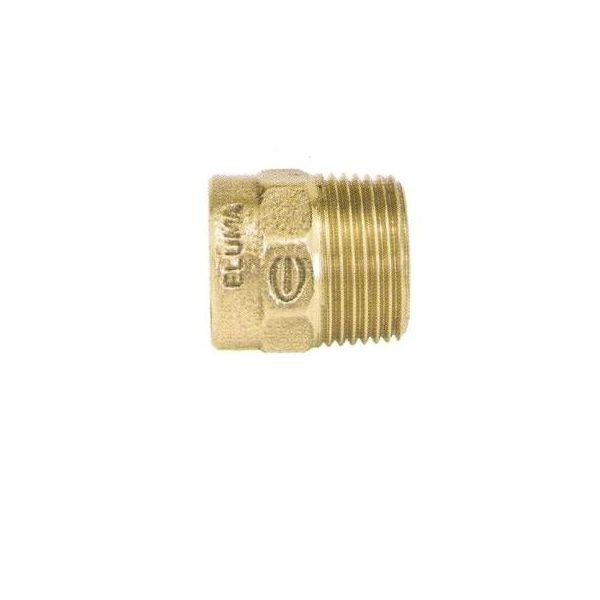 Conector Soldável Rosca Macho 604 28X1mm sem Anel Ramo
