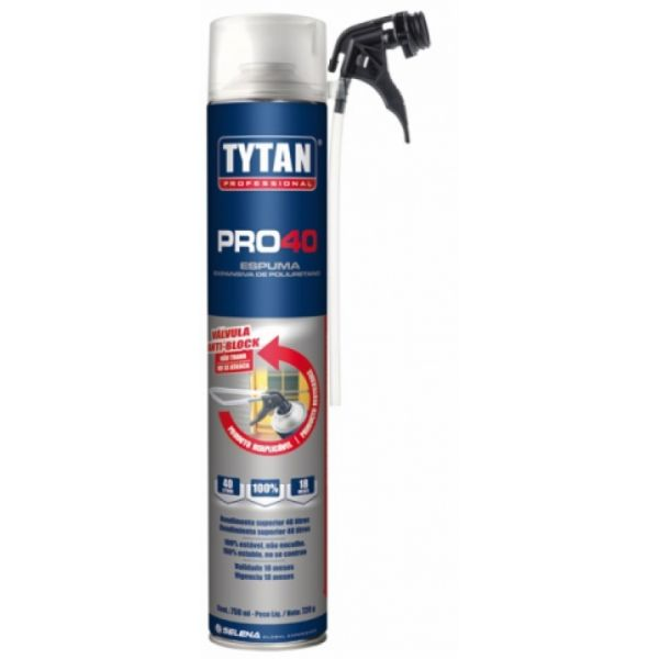 Espuma Pro 40 720G/750ML Tytan
