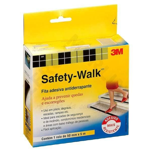 Fita Safety Walk Cinza 50mmx5m – 3M