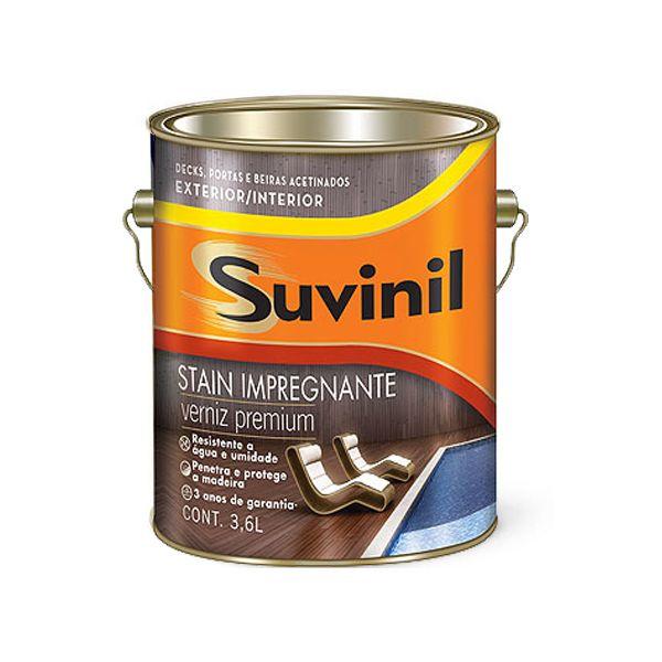Verniz Alta Performance Acetinado 3,6 Litros Mogno Suvinil