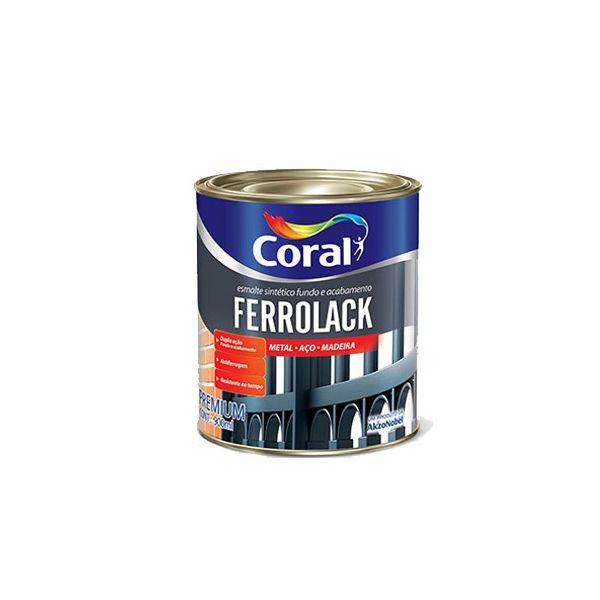 Primer Ferrolack 0.9Litros Preto Coral