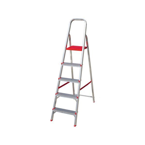 Escada  Alumínio 5 Degraus Botafogo