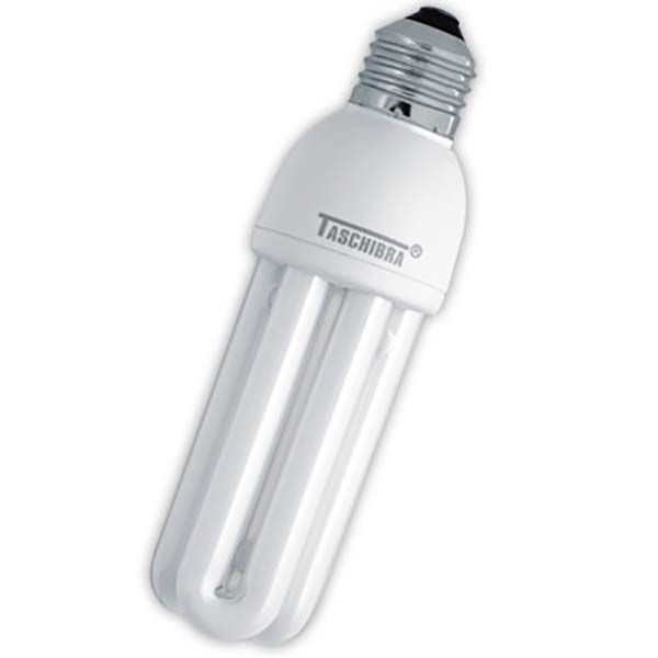 Kit Fluorescente Triplo Econômico 15W Branca Taschibra
