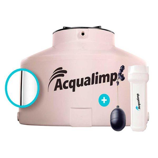 Caixa D'água Tampa Rosca 500 Litros Areia Acqualimp