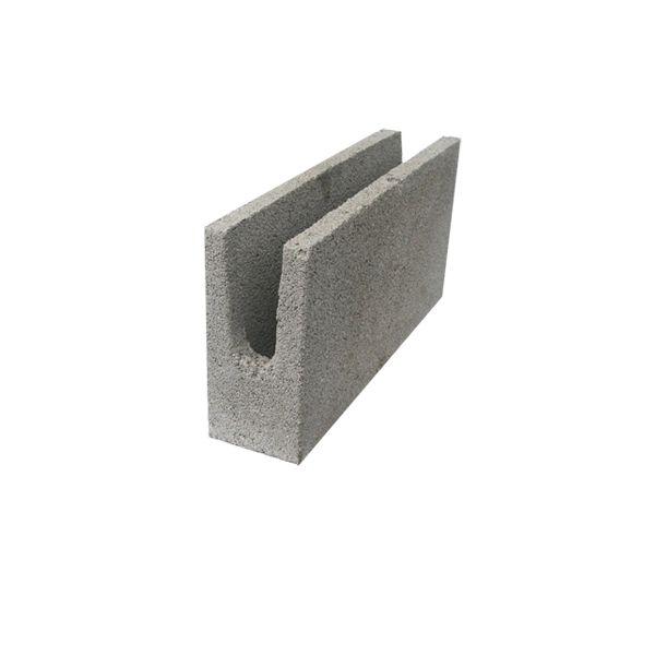 Bloco de Concreto 14X19X39 Fundo Tipo U Refa