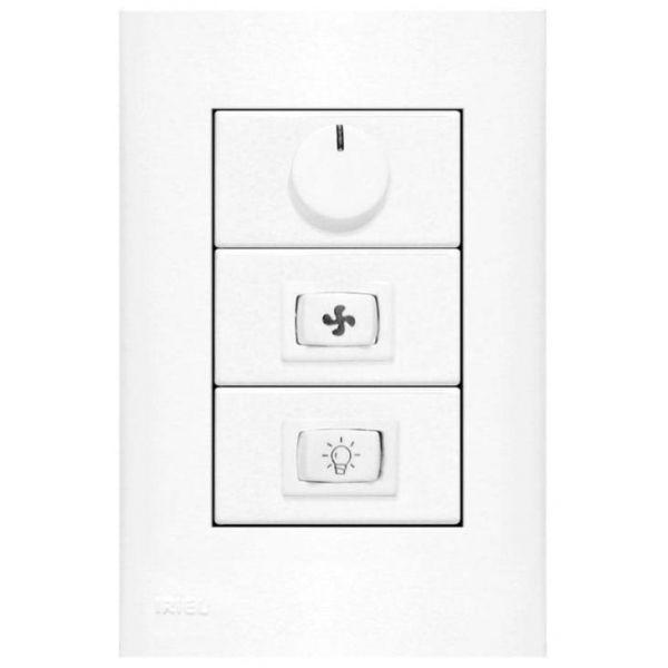 Controle para Ventilador 1P Luz 751821 Imperia Branco