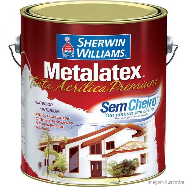 Metalatex Acrílica 3.6 Litros  Fosco Sherwin Williams