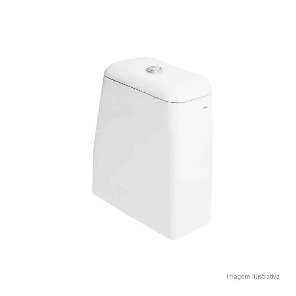 Caixa Acoplada Duomo Plus Com Dual flux Branco Deca