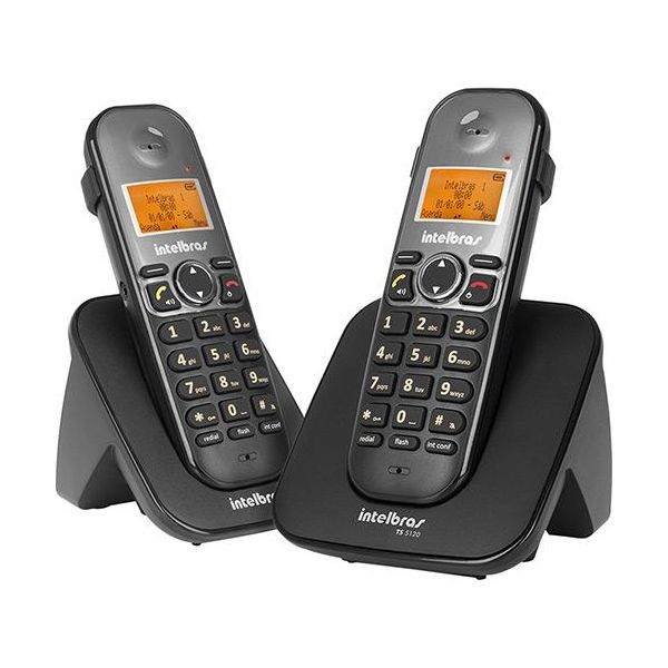 Telefone Sem Fio Digital Com Ramal Ts5122  Preto