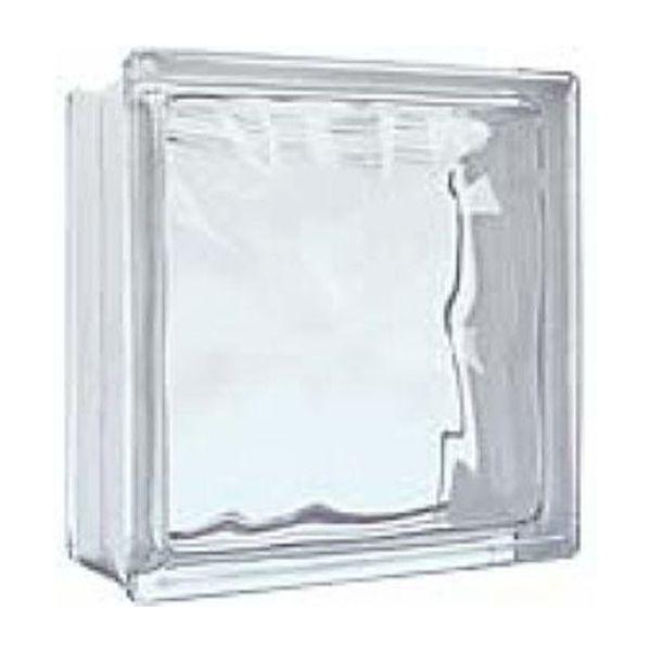 Tijolo de Vidro 19x19x8 cm Glass Incolor Kobe