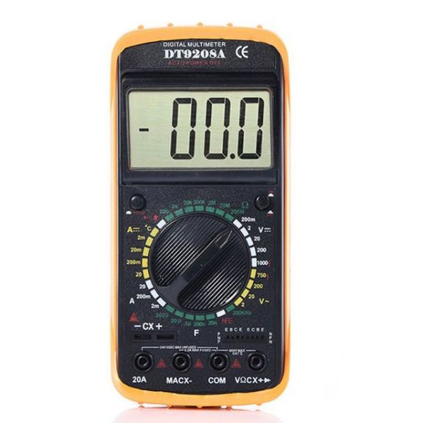 Multímetro Capacimetro Digital Portátil Dufrio