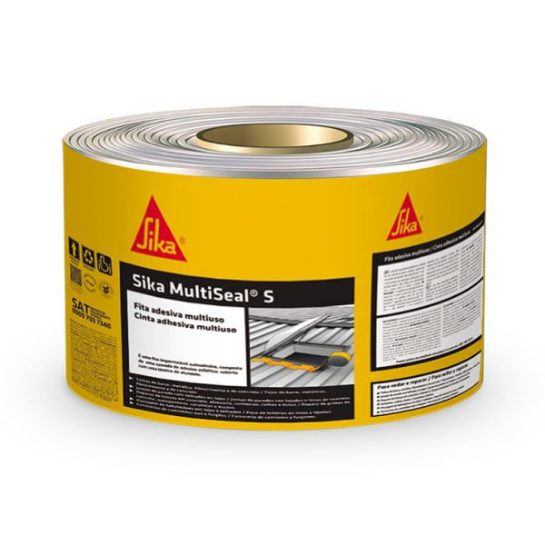 Fita Alumínio Multseal 10cmx10mt Sika