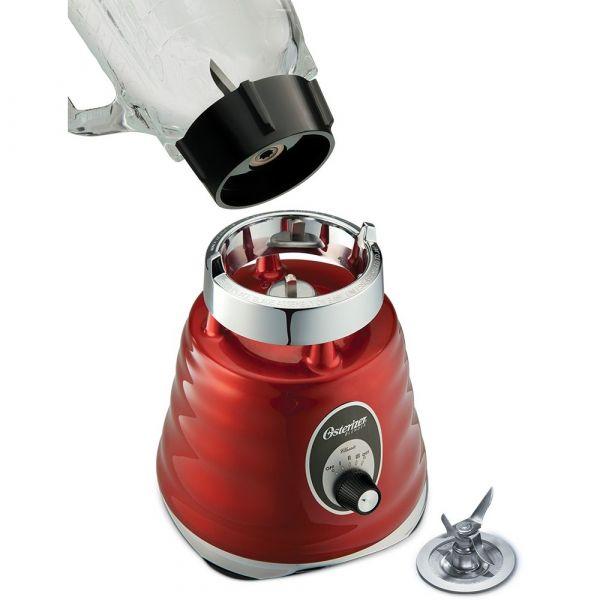 Liquidificador Clássico Osterizer 600W  Vermelho 127V Oster