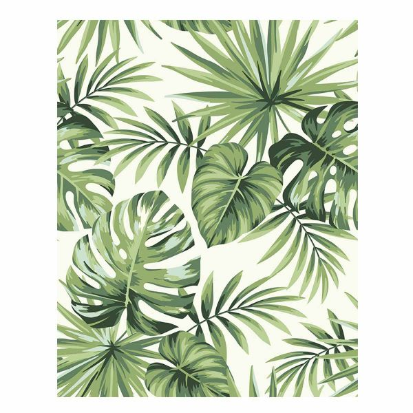 Quadro Tropical Jmy-184115 80x100cm  Estampado Kobe