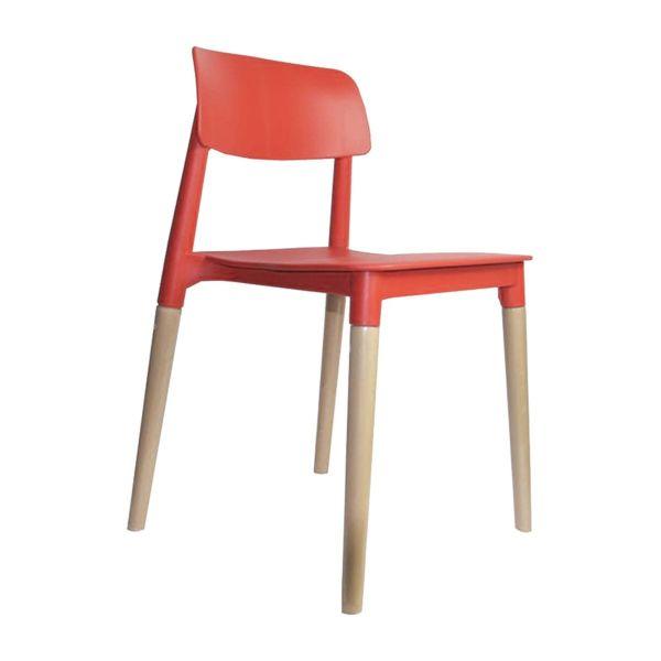 Cadeira Juliana 36504436  Vermelho Rivatti